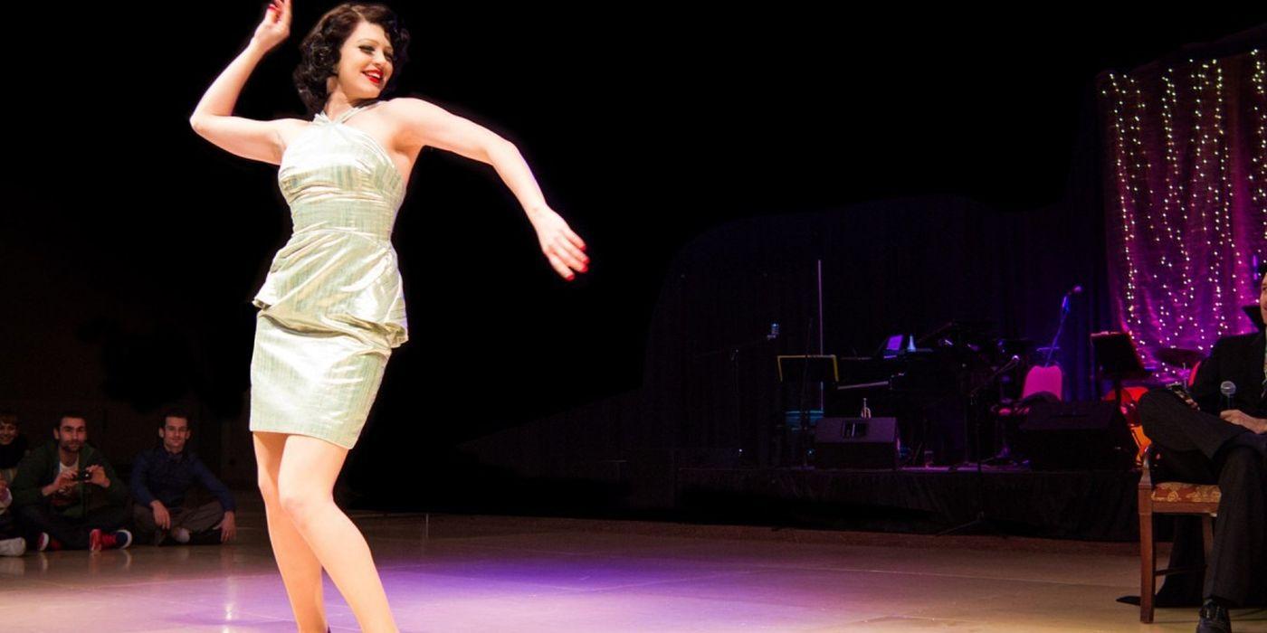 Sharon Davis dance lindy hop.