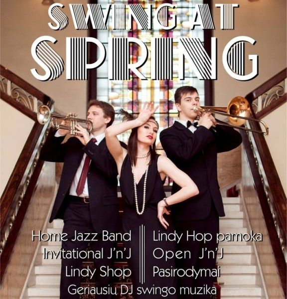 Swing At Spring 2015 in Kaunas
