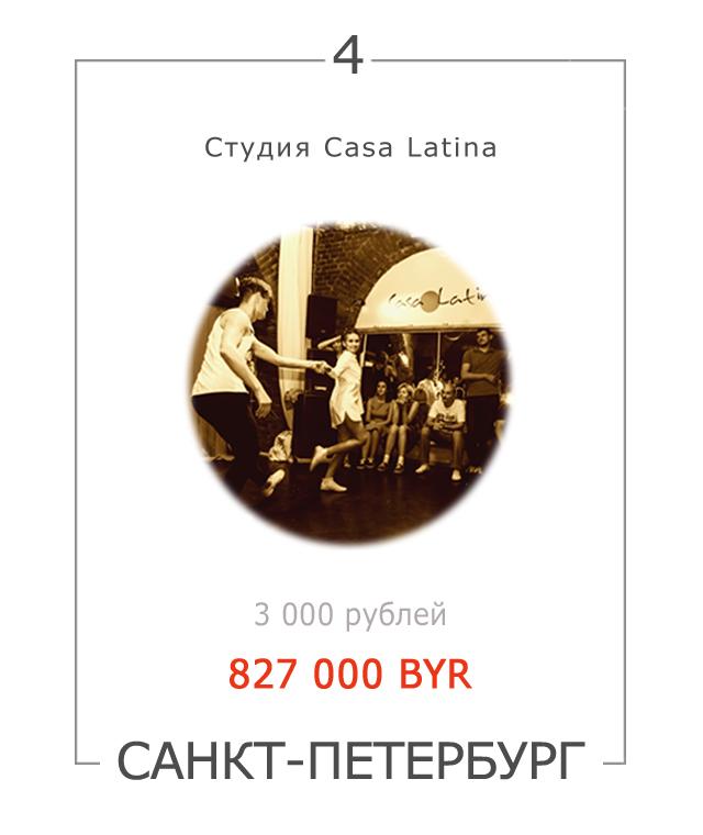Линди хоп в Санкт-Петербурге