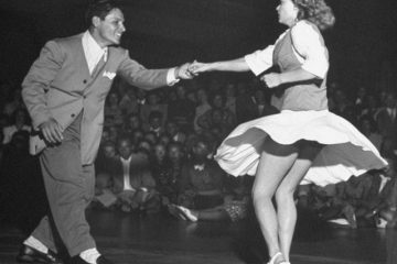 Lindy Hop Fast Feet Competition