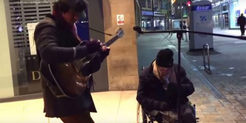 Homeless sings Summertime
