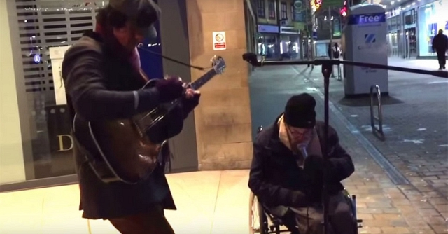 Homeless sings Summertime