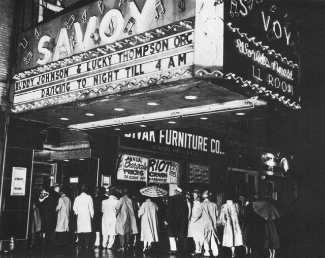 Savoy Ballroom 1940s