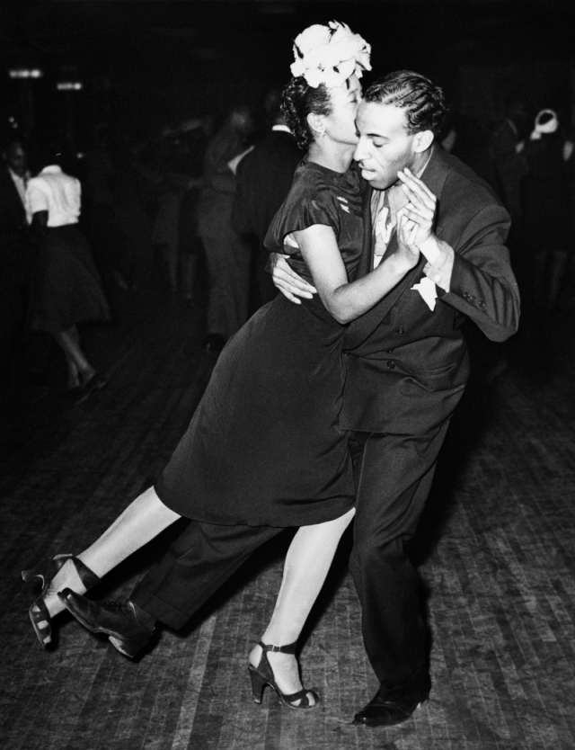 Ricky Babbit and Lucy Simms at Savoy Ballroom 1940s