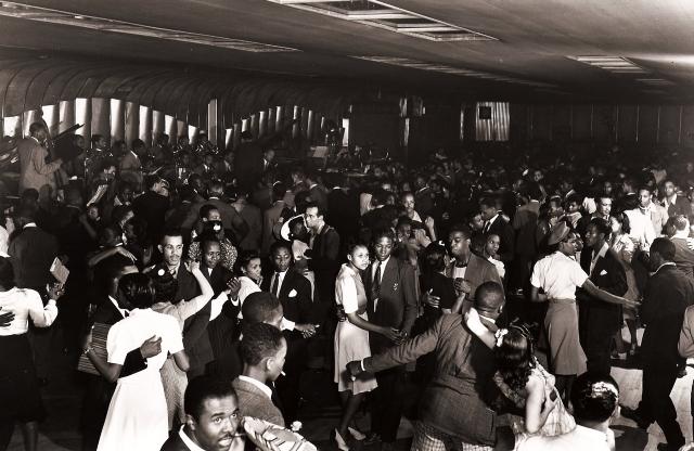 Lindy Hop Party at Savoy Ballroom 1940s