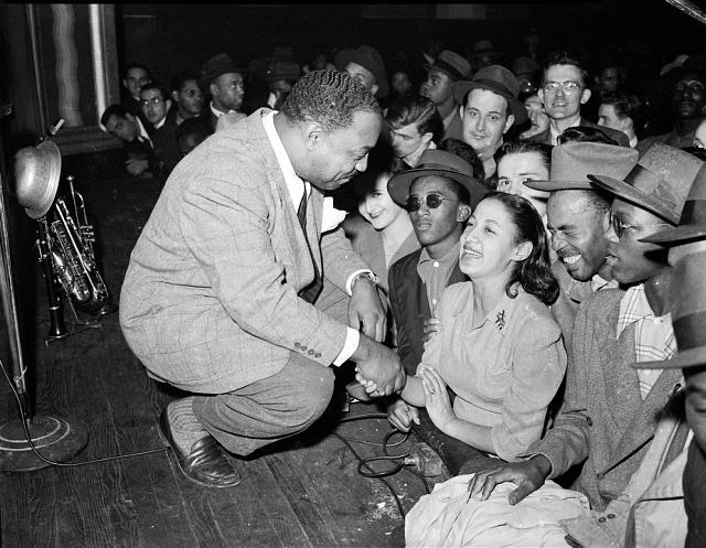 Benny Carter at Savoy Ballroom 1940s