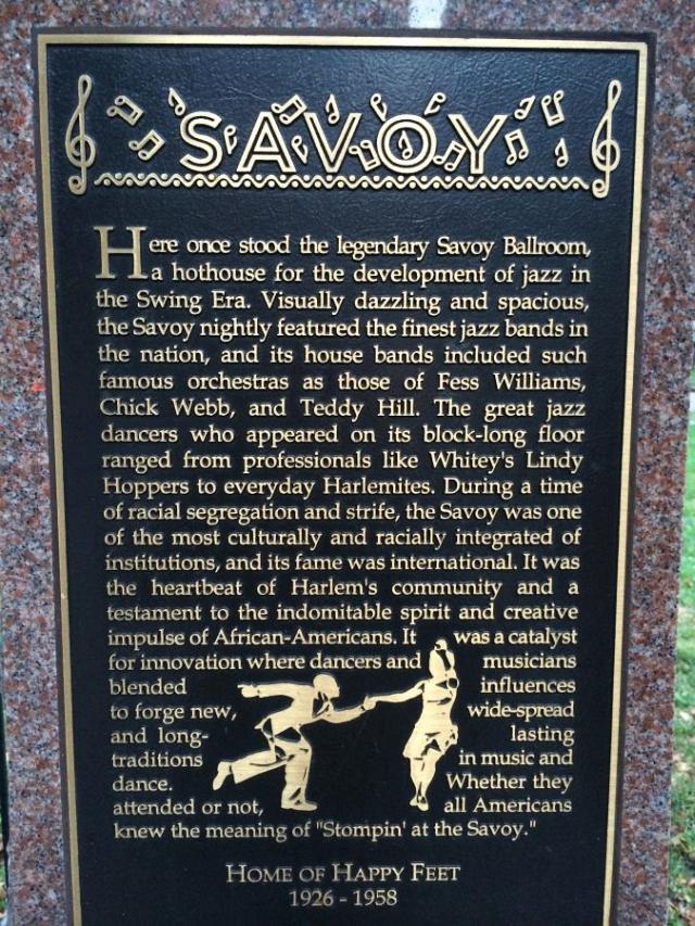 Savoy Ballroom Modern Day