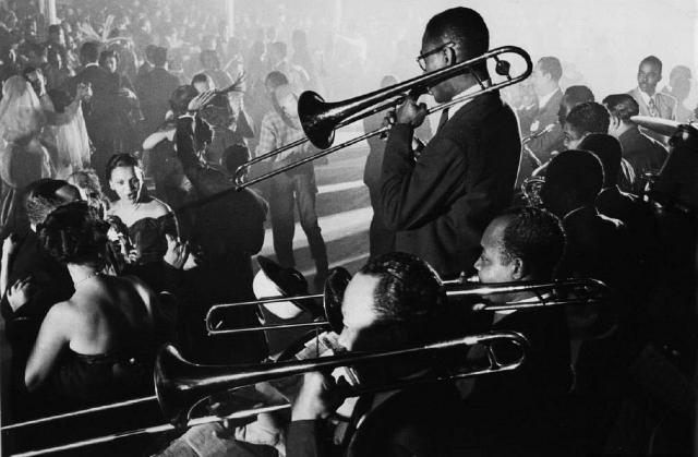 Orchestra at Savoy Ballroom 1940s