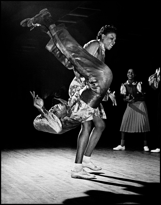 "Gladys Crowder, Eddie ""Shorty"" DAVIS, Mickey Jones at Savoy Ballroom 1940s"