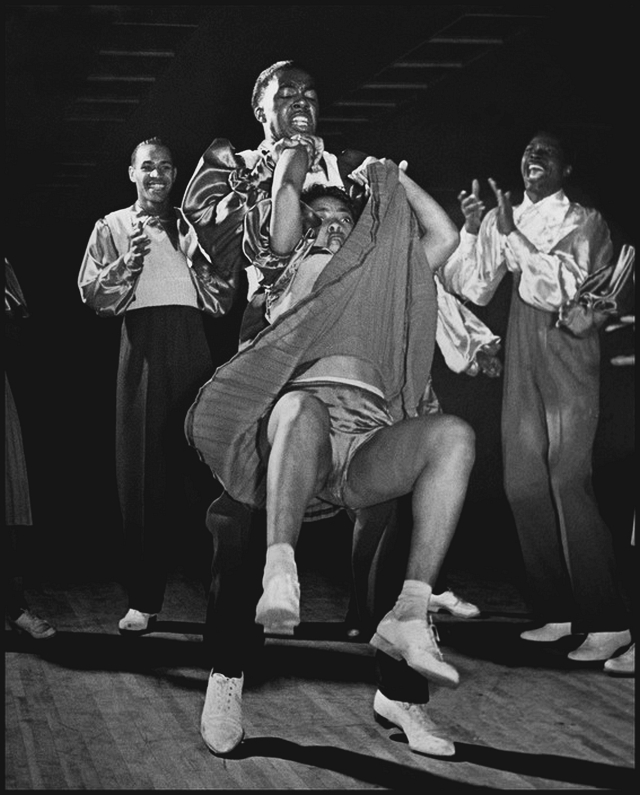 Joe Daniels, William Downes and Frankie Manning at the Savoy Ballroom 1940s