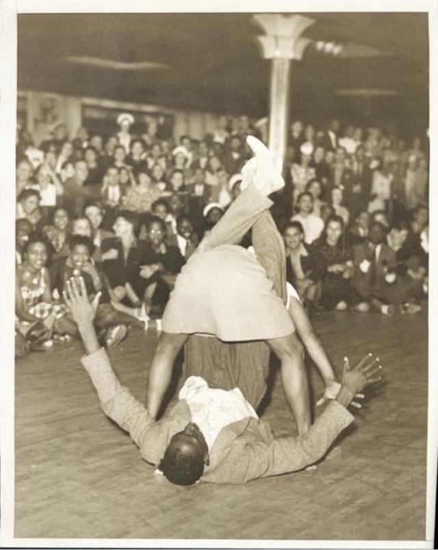 Norma Miller at Savoy Ballroom 1940s