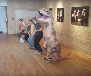 Big Apple Routine By T-Rex