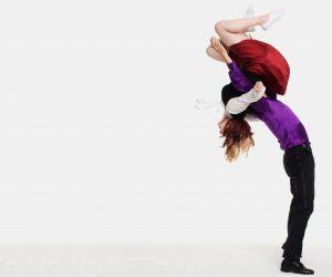 Kevin St. Laurent and Jo Hoffberg make Backflip Aerial