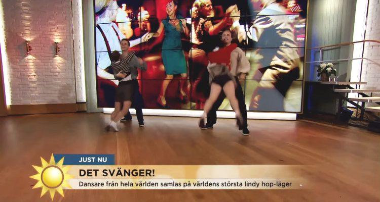 Harlem Hot Shots on Swedish TV