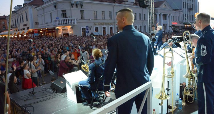 US FORCE Orchestra in Minsk